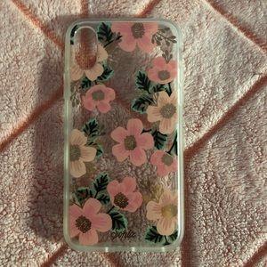 iPhone X Flower Case